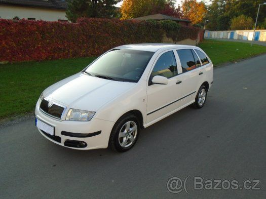 Škoda Fabia Combi  1.majitel - 1