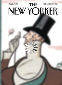 The New Yorker loading cover