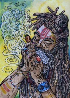 .Stoner art  Repinned by Fun Weed Pics @funweedpics