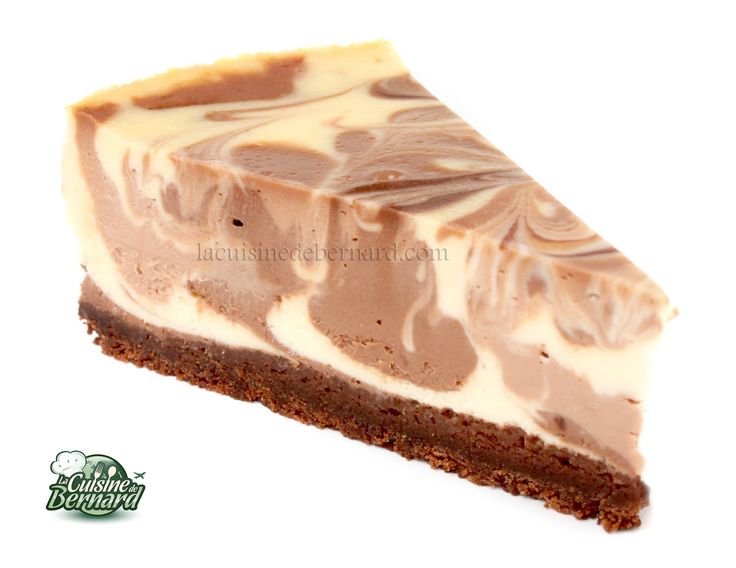 La Cuisine de Bernard : Le Cheesecake aux Deux Chocolats                                                                                                                                                                                 Plus