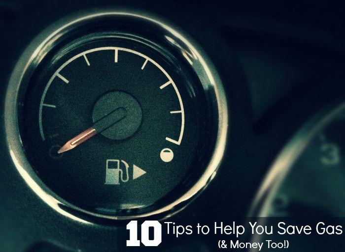 Gas saving tips to ALSO save you money.