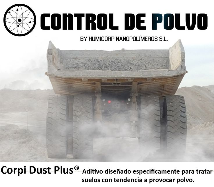 Corpì Dust Plus aditivo para tratar suelos con tendencia a provocar polvo.