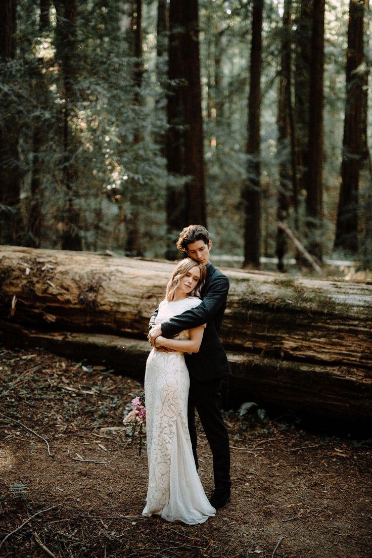 Redwood Wedding. Elopement Ideas. Redwood Forest Elopement. California Wedding. www.bradandjen.com
