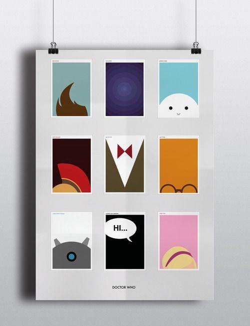 #doctorwho #minimal #design #poster