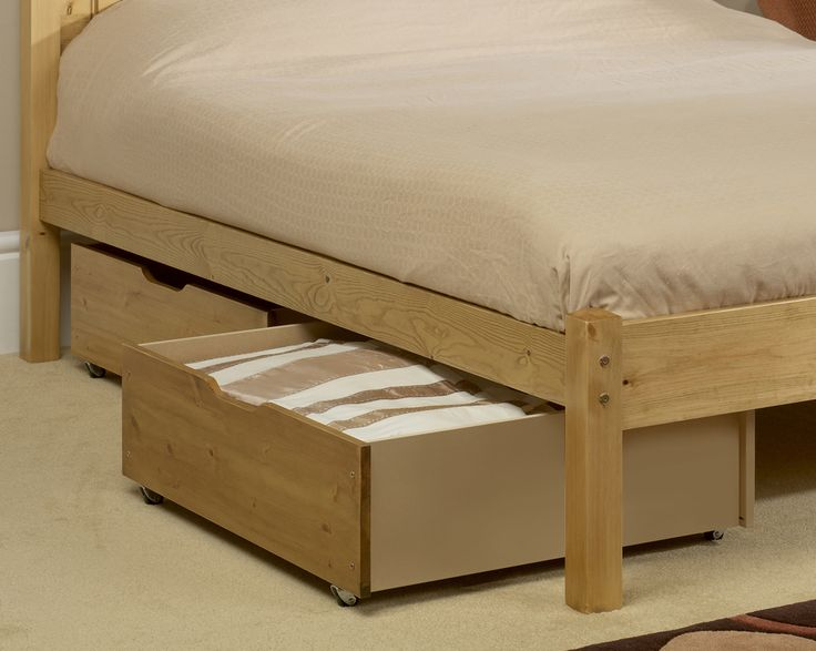 Roll A Way Drawers Underneath Of Raised Bed Room Inspiration Pinterest Storage And