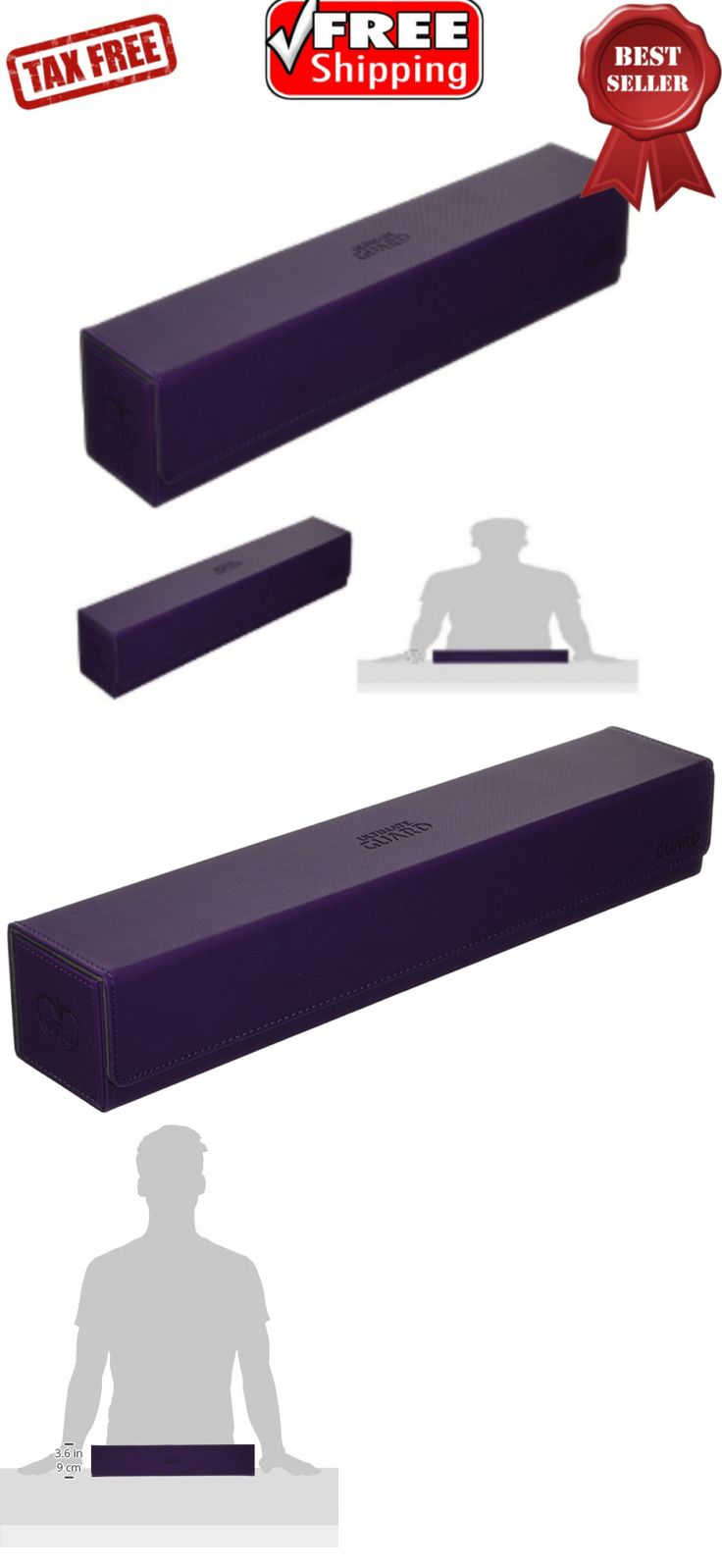 CCG Deck Boxes 183462: Flip N Tray Mat Case Card Game Anti Slip Super Rigid Double Layer Purple 61X35cm -> BUY IT NOW ONLY: $53.17 on eBay!