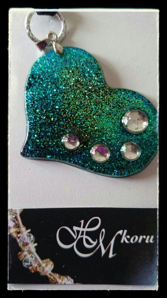 Ice resin -jewellery by HM-koru