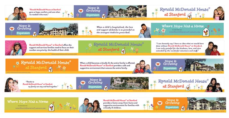 PROJECT OF THE DAY: Fencing banners for Ronald McDonald House at Stanford. Six 75' banners for the new House construction site. This was a HUGE project! Special thanks to Guy Giunta for graphics support. #forRMHC #lovewhatIdo!