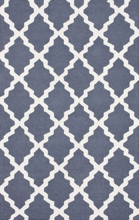 Rugs USA Homespun Moroccan Trellis Blue Grey Rug. 4th Of July Sale Last Day!