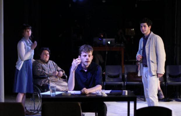 The Seagull in a version by Martin Crimp  directed by Victor Kalka Cellar Theatre, October, 2016