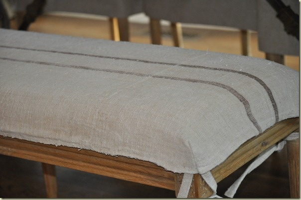 Bench...: Chair Covers, Washable Chair, Bench, Craft Activity Ideas, Slipcovers, Kitchen