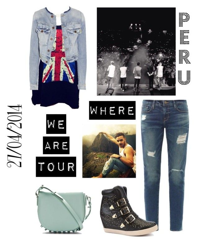 """WWAT PERU♥"" by laura-maby ❤ liked on Polyvore featuring Frame Denim, Alexander Wang, Bronx and TEXTILE Elizabeth and James"