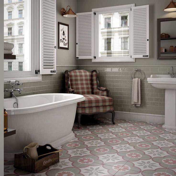 17 meilleures id es propos de salles de bains style for Salle de bain style campagne