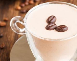 Panna cotta légère au café et cannelle…