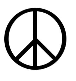 1958: A peace symbol is designed by Gerald Holtom, commissioned by the Campaign for Nuclear Disarmament (CND), in protest against the Atomic Weapons Research Establishment.