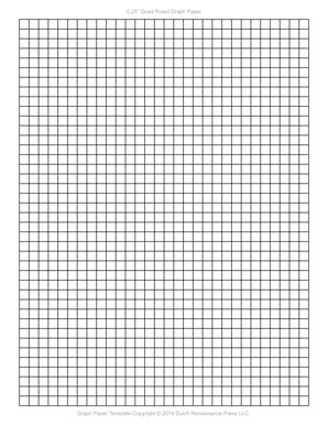 Graph paper template 1 4 inch letter pdf templates for One inch graph paper template