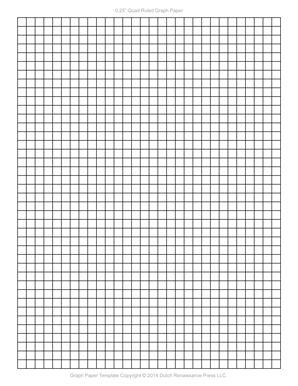 printable 1 4 graph paper
