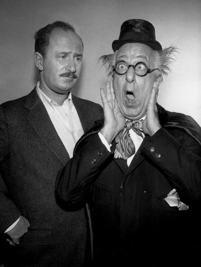 Fathers and Sons: Character actor Keenan Wynn [left] with his famous father, Ed Wynn -- who was quite the character!