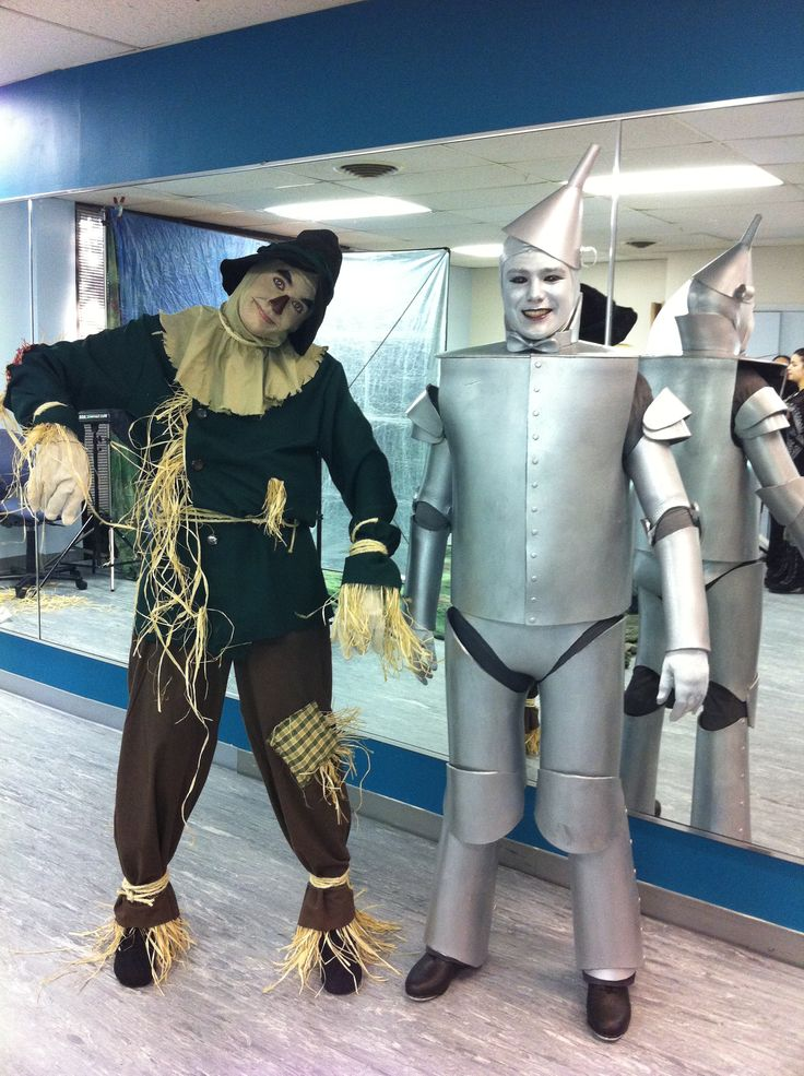 Scarecrow Costume, Tin Man Costume  Rental information: http://www.cytfredericksburg.org/programs/COSTUME-RENTALS-9