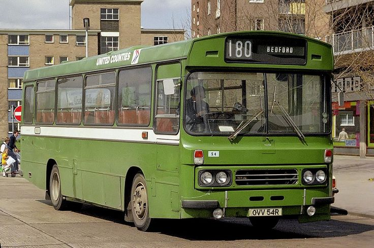 United Counties 54.... a troublesome bus! Originally assigned to Aylesbury it was well known for throwing the passengers backwards and forwards. After receiving an engine transplant, courtesy of Norman, it was transferred out for a better bus!
