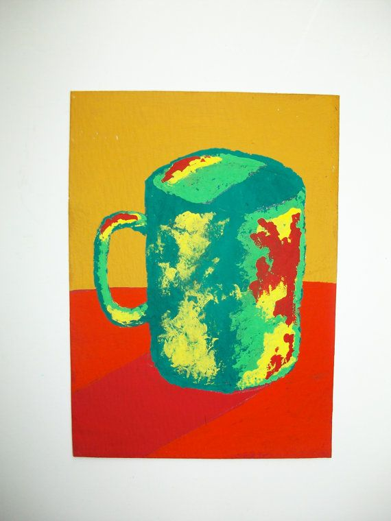 The Morning Cup of Coffee 97 ARTIST TRADING CARDS by MikeKrausArt