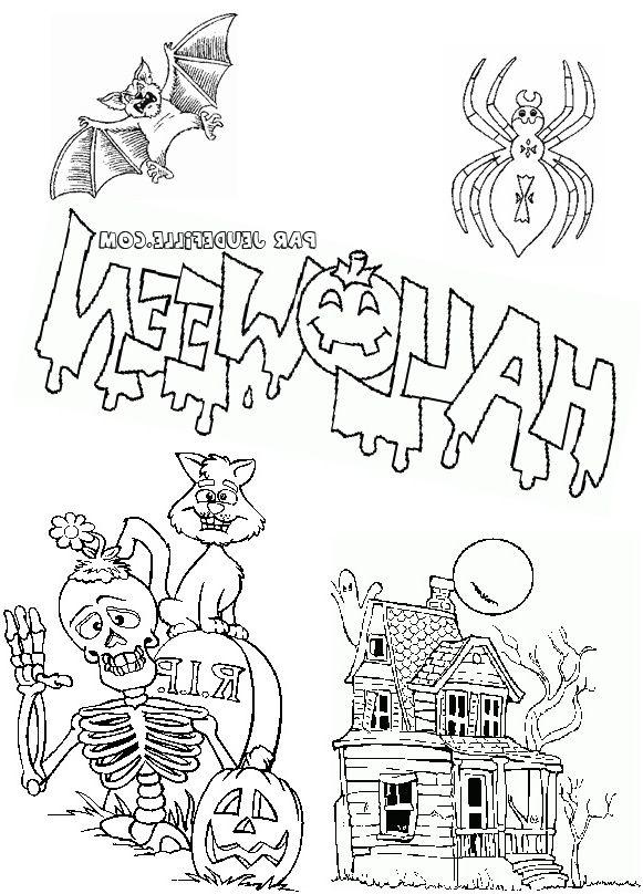Coloriage Gratuit Halloween 8 Modeste Coloriage Gratuit