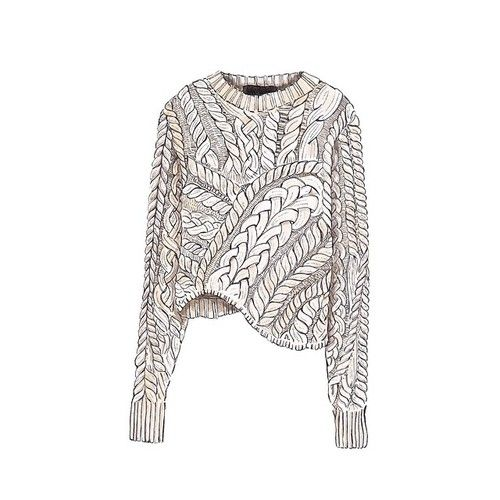 Good objects - Isabel Marant cable knit sweater @isabelmarant #isabelmarant #goodobjects