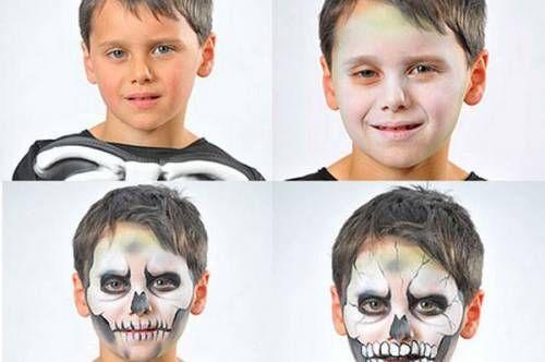Dicas para fazer maquiagem de caveira - Halloween