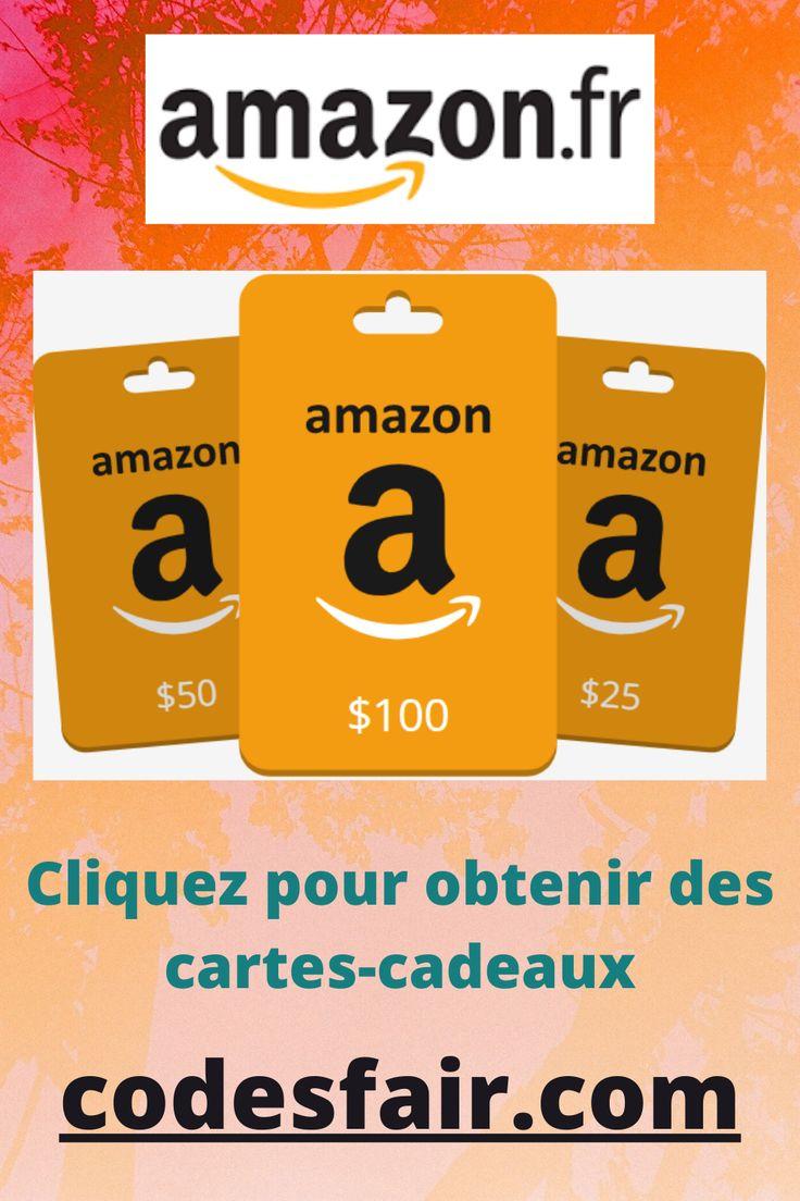 Cartescadeaux amazon gratuites in 2020 amazon gift card