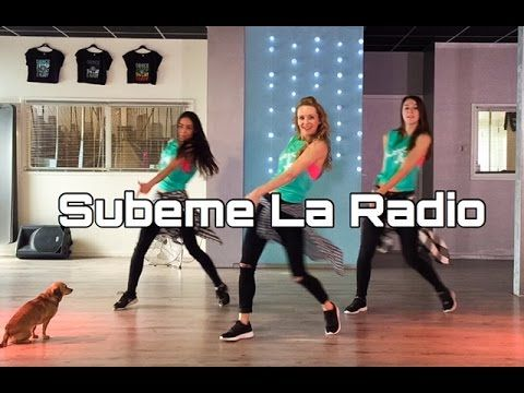 Subeme La Radio - Enrique Iglesias - Easy Fitness Dance Choreography - Baile - Coreografia - YouTube