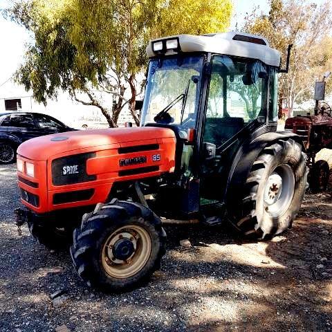 SAME  GOLDEN-85 FWD, Tractor    TRACTORS & DOZERS