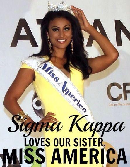 ΣΚ loves our Miss America!