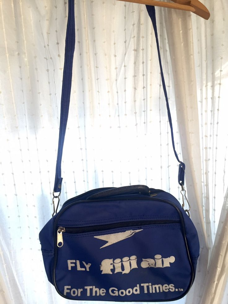 A personal favorite from my Etsy shop https://www.etsy.com/listing/470201377/vintage-fiji-air-airline-bag