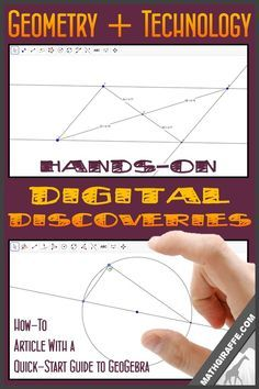 Inquiry Based Geometry: A Quick-Start Guide to using GeoGebra to let your students investigate geometric properties through hands-on digital discoveries
