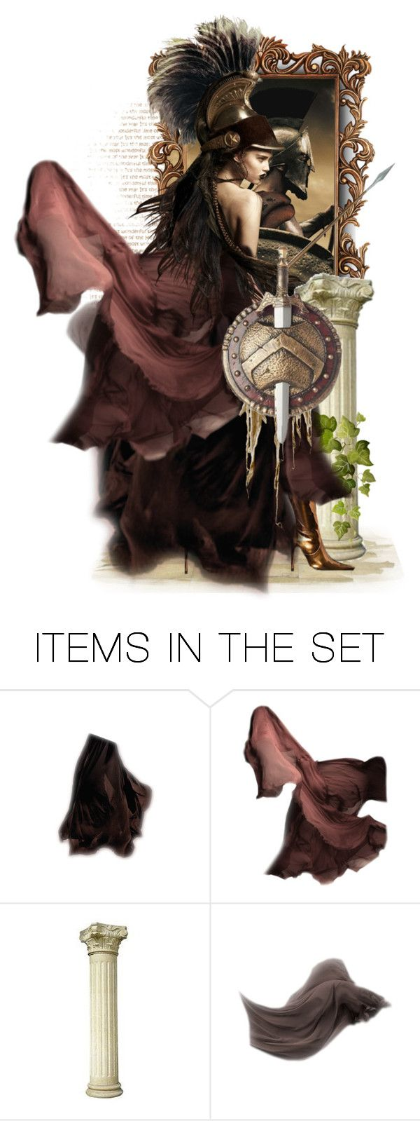 """Gorgo, Queen of Sparta"" by sophisticatedignorance21 ❤ liked on Polyvore featuring art"