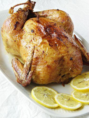 курица с розмарином