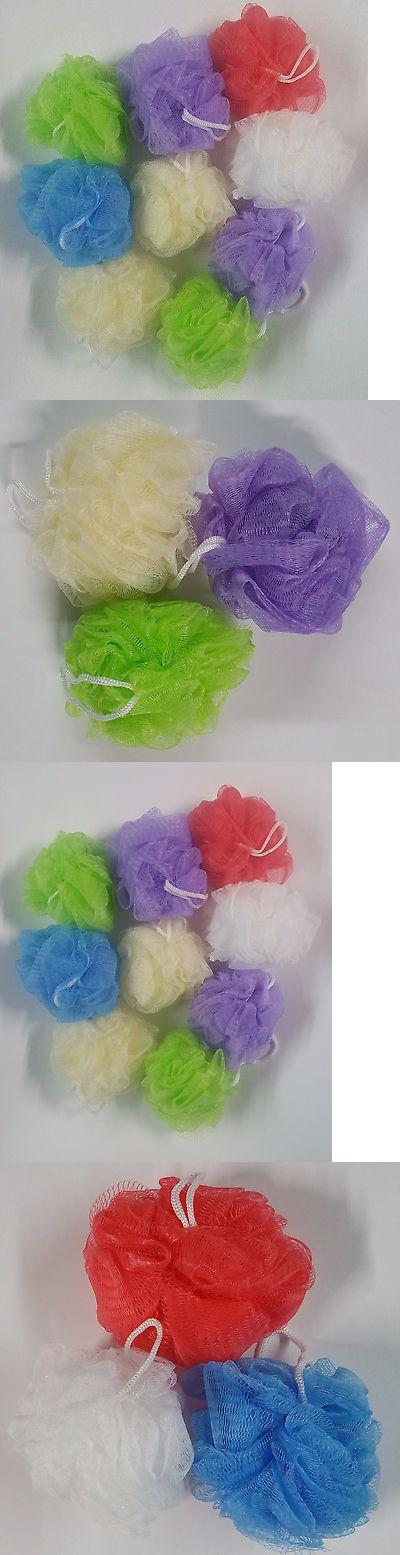 Bath Brushes and Sponges: 50 Bath Sponges Shower Nylon Mesh Scrubbers Exfoliating Body Massage Scrub New -> BUY IT NOW ONLY: $36 on eBay!