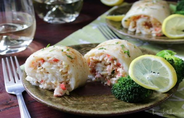 Crab Stuffed Whitefish is made with Succulent crab stuffed white fish with dreamy crab filling and topped with a lemon butter drizzle. 30 Minute MEAL