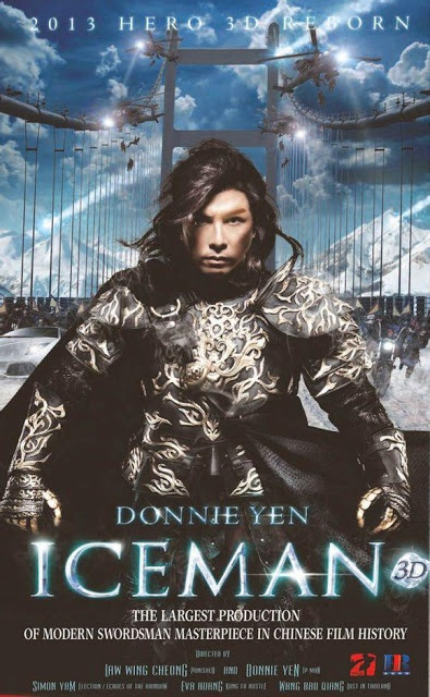 Iceman 3D - Donnie Yen: Movie Posters, Action Movie, Iceman 3D, Iceman Cometh, Iceman 2014, Martial Art, Film Posters, Donnie Yen, Film Iceman