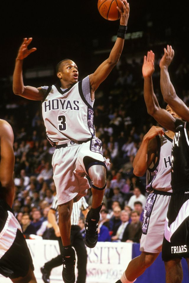 NBA stars when they were in college