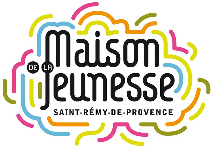 Identité visuelle de la Maison de la jeunesse de Saiut Rémy de Provence