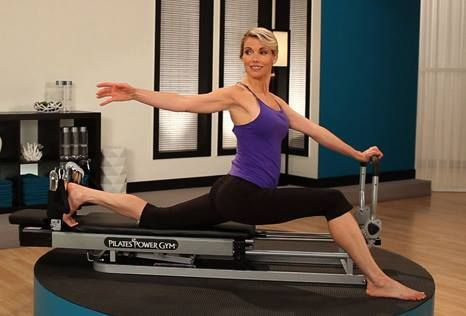 Quick Beginner's Pilates workout on the Pilates Power Gym reformer