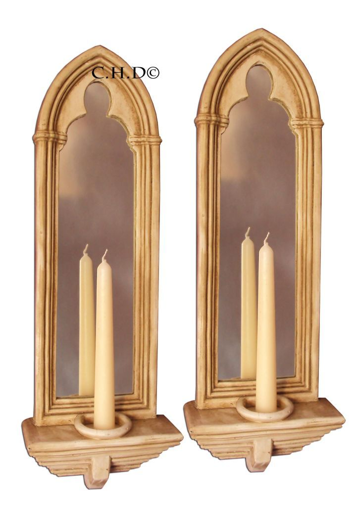 Gothic Mirrors by CHAPTER HOUSE DESIGN Church candle