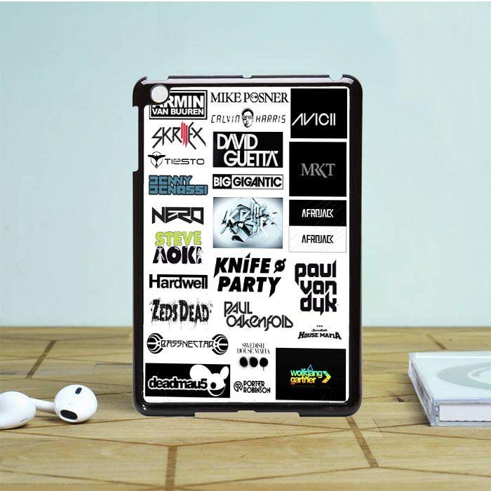 Top Dj Collage iPad Mini 2 Case Dewantary