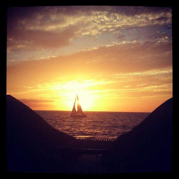 Villa Premiere Hotel and Spa, Puerto Vallarta, Sunset, Sail / Photo by aguasrey