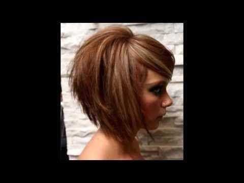 ▶ Modèles de coupes de cheveux mi-longs 2014 - YouTube