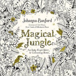 Magical Jungle An Inky Expedition Colouring Book Books Amazon