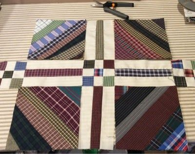 Keeping You in Stitches: shirt quilt