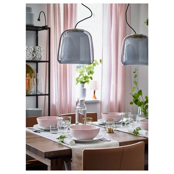 EVEDAL Taklampa, grå IKEA | Taklampa, Ikea, Lampor