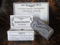 Beard Grooming Set, Sampler